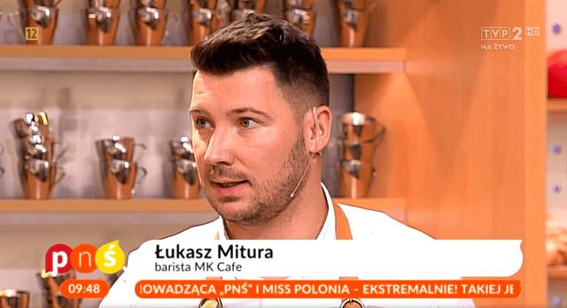Łukasz Mitura, Pytanie na Śniadanie